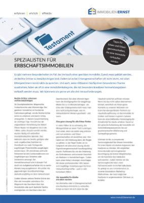Wir Sind Ihre Experten Und Spezialisten In Köln Für Erbschaftsimmobilien