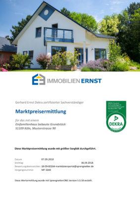 Immobilien Ernst Erstellt Dekra Zertifizierte Bewertungen Für Den Korrekten Verkaufspreis Ihrer Immobilie In Köln Egal Ob Im Sachwertverfahren Vergleichswertverfahren Ertragswertverfahren