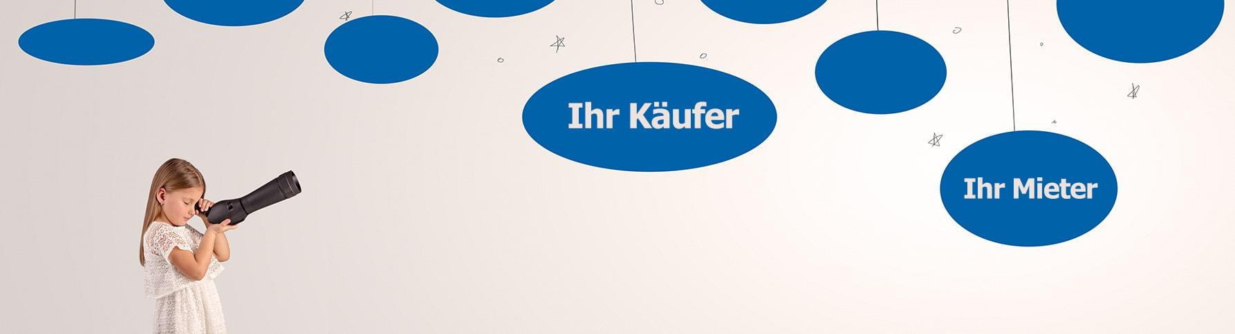 Wir haben Ihren Mieter/in und oder Ihren Käufer/in in Köln