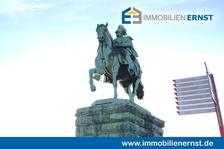 Ansicht Reiterdenkmal Hohenzollernbrücke Immobilienmakler Köln Immobilienverkauf Köln Immobilie Erfolgreich Zum Besten Preis Verkaufen