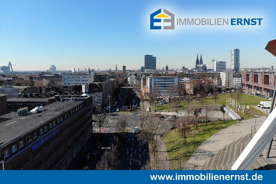 Blick Richtung Rhein Und Dom Von Der Lanxess Arena Aus Immobilienverkauf Köln Immobilie Erfolgreich Zum Besten Preis Verkaufen